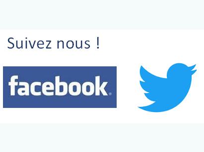 Ouverture d'un compte Facebook et Twitter