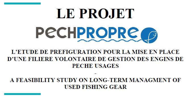 Le rapport PECHPROPRE est disponible !